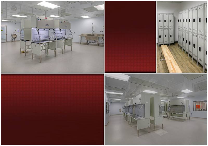 Pharmaceutical Clean Room Design, 503A rooms, 503B Rooms
